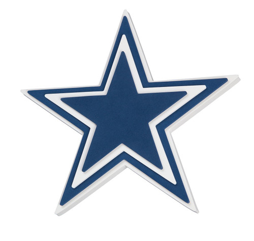 Dallas Cowboys Star 3D Fan Foam Logo Sign
