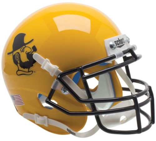 Appalachian State Mountaineers Yosef Gold Schutt Mini Authentic Football Helmet