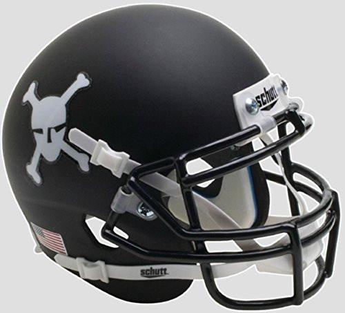 Army Black Knights Alternate Skull & Crossbones Schutt Full Size Replica XP Football Helmet
