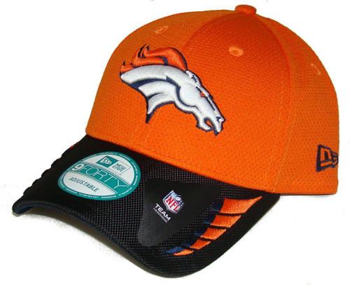 DENVER BRONCOS New Era 9FORTY NFL ADJUSTABLE BASEBALL HAT / CAP