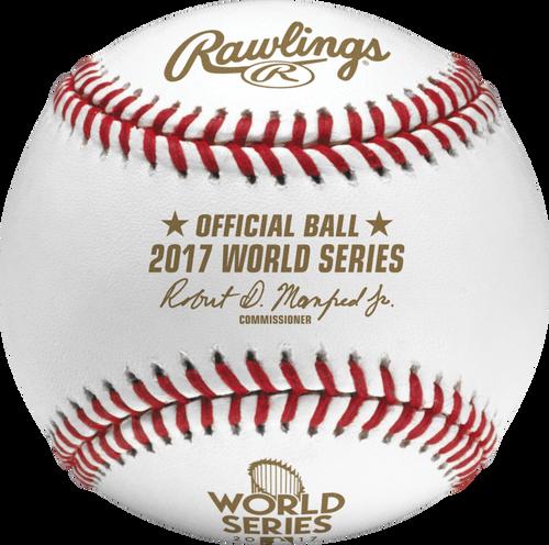 2017 World Series MLB Rawlings Official Baseball