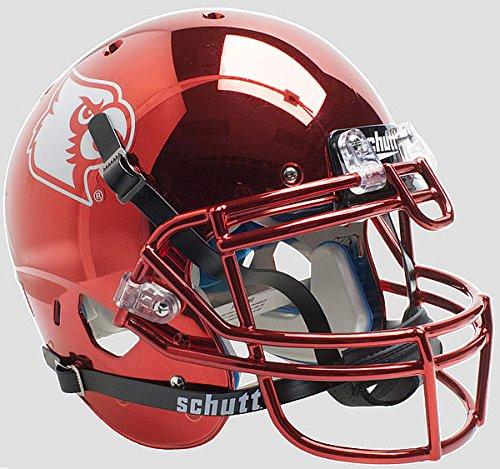 Louisville Cardinals Alternate Red Chrome Schutt Full Size Authentic Helmet