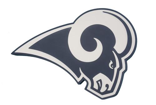 Los Angeles Rams 2017 White 3D Fan Foam Logo Sign