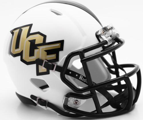 UCF Knights Matte White SPEED Mini Helmet