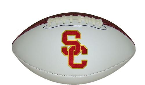 NCAA USC Trojans Autograph Official Football