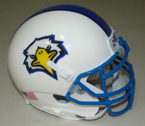 Morehead State Eagles White Schutt Mini Authentic Football Helmet