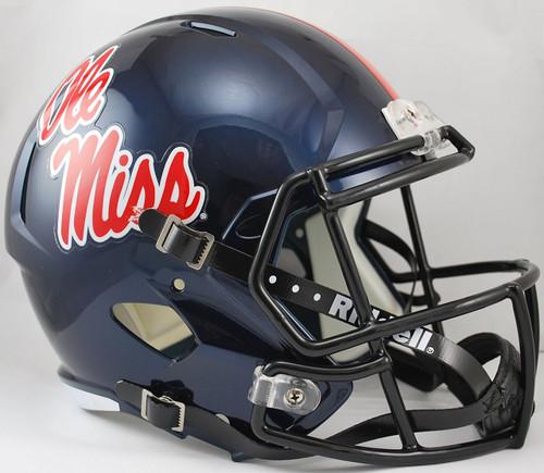 Mississippi (Ole Miss) Rebels SPEED Riddell Full Size Replica Helmet