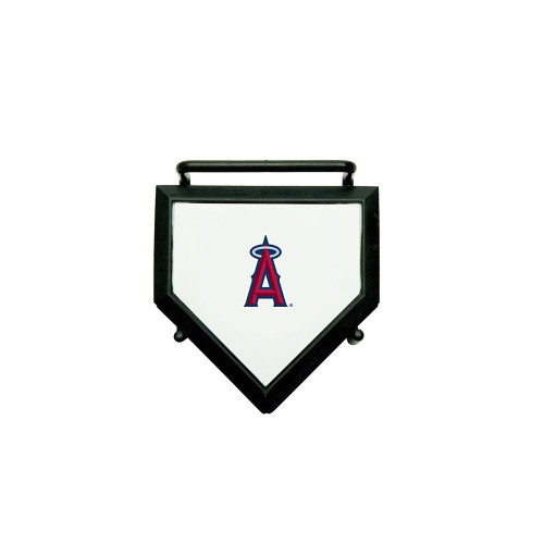 MLB Los Angeles Angels Home Plate 4-pack Coaster Set