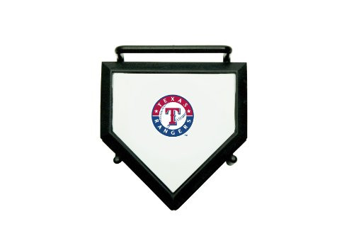 MLB Texas Rangers Home Plate 4-pack Coaster Set