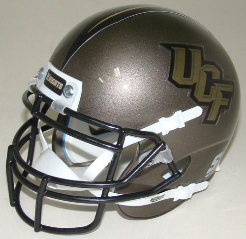 UCF Knights Pewter Schutt Mini Authentic Football Helmet