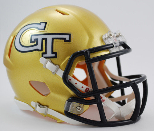 Georgia Tech Yellow Jackets Revolution SPEED Mini Helmet