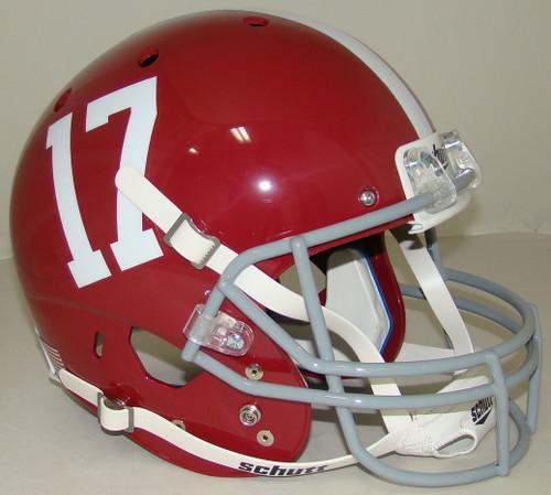Alabama Crimson Tide #17 Schutt Full Size Replica XP Football Helmet