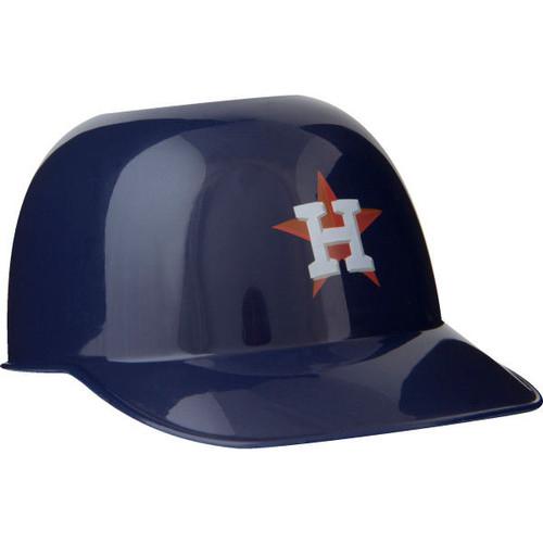 Houston Astros MLB 8oz Snack Size / Ice Cream Mini Baseball Helmets - Quantity 6