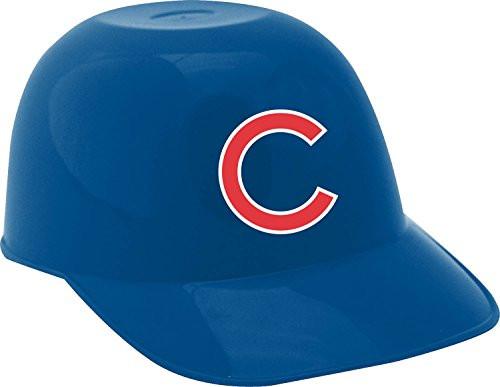 Chicago Cubs MLB 8oz Snack Size / Ice Cream Mini Baseball Helmets - Quantity 6
