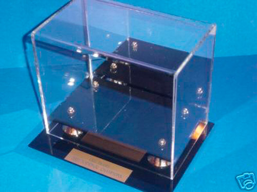 Philadelphia Eagles Super Bowl LII Champions Mini Football Helmet Display Case
