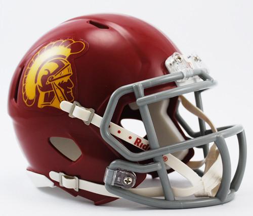 USC Trojans NCAA Riddell Speed Mini Helmet