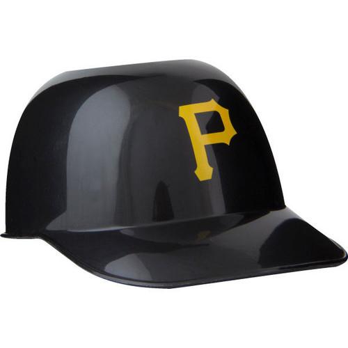 Pittsburgh Pirates MLB 8oz Snack Size / Ice Cream Mini Baseball Helmets - Quantity 6