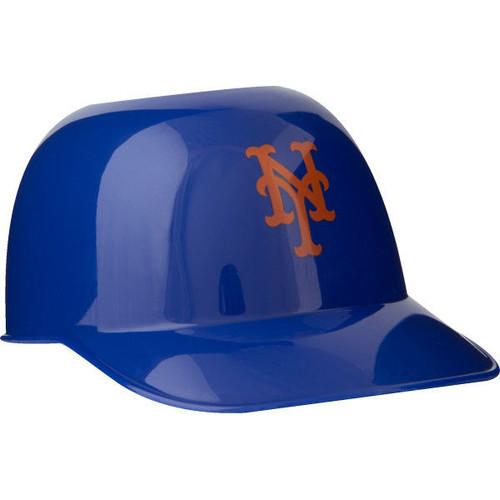 New York Mets MLB 8oz Snack Size / Ice Cream Mini Baseball Helmets - Quantity 6