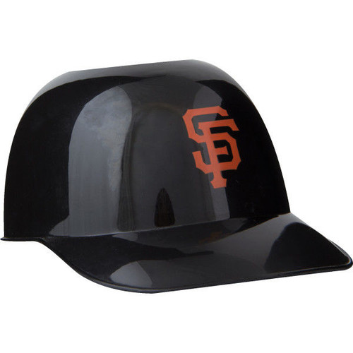 San Francisco Giants MLB 8oz Snack Size / Ice Cream Mini Baseball Helmets - Quantity 6