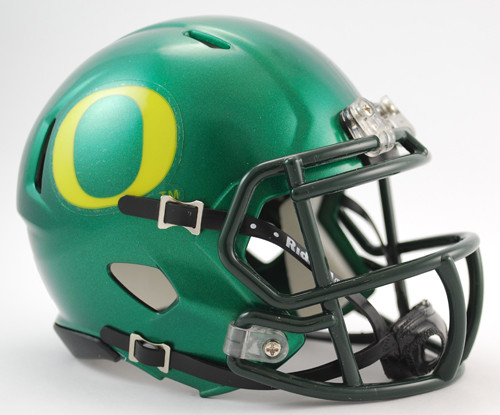 Oregon Ducks (Green) NCAA Riddell Speed Mini Helmet