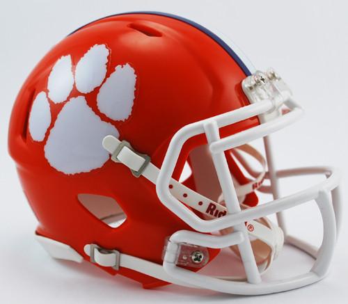 Clemson Tigers Revolution SPEED Mini Helmet