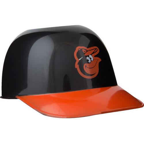 Baltimore Orioles MLB 8oz Snack Size / Ice Cream Mini Baseball Helmets - Quantity 6