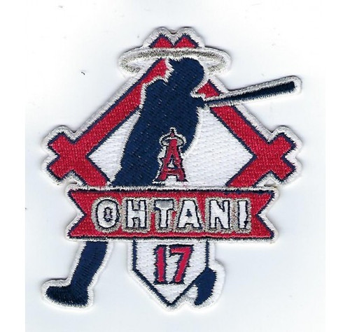"SHOHEI OHTANI ""LONGBALL"" FANPATCH MLB Collectible Patch"