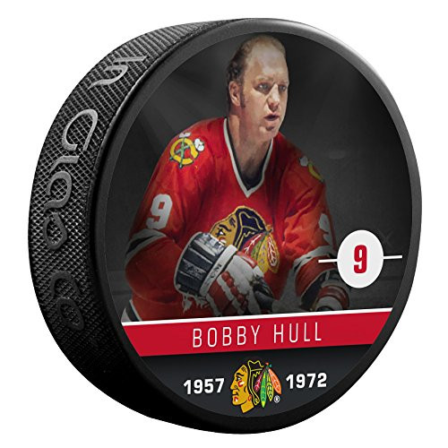 Bobby Hull (Chicago Blackhawks) The Alumni Product Line Souvenir Hockey Puck