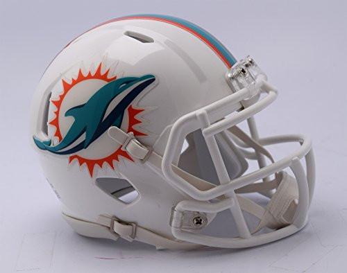 Miami Dolphins Riddell Revolution Speed Mini Football Helmet