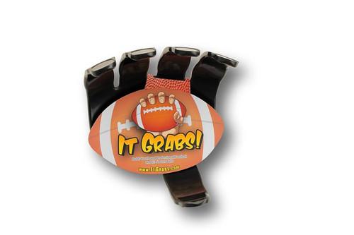 It Grabs Football Sports Ball Holder - Wall Display Holder - Like Ball Claw