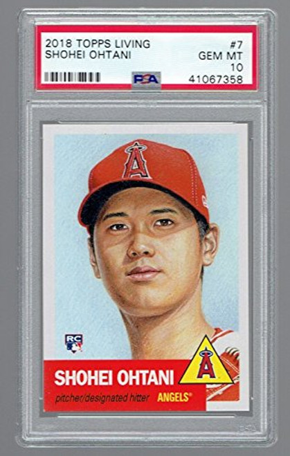 2018 Topps Living Set SHOHEI OHTANI ROOKIE MINT LA Angels 1953 Topps Limited Edition Graded PSA 10