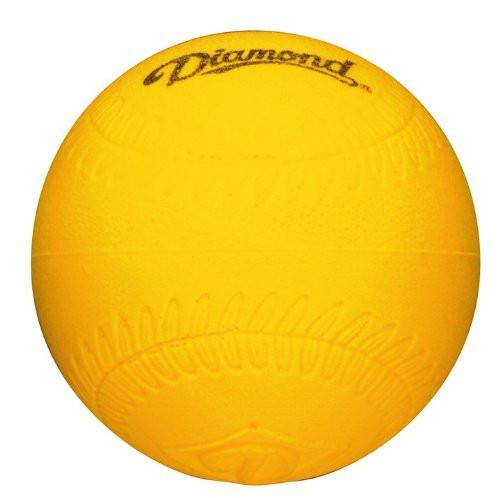 "Diamond 9"" Lightweight Foam Baseball Size Practice Balls, Dozen"