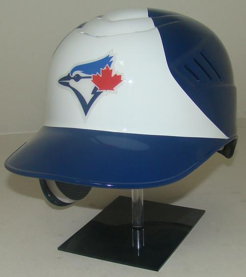 Toronto Blue Jays White Front Rawlings Coolflo REC Full Size Baseball Batting Helmet - Lefty