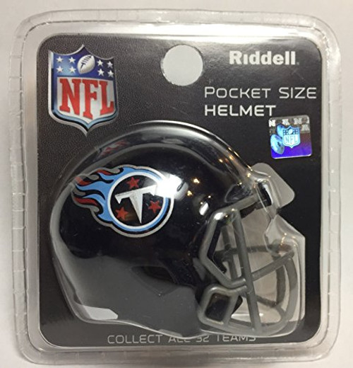 Tennessee Titans 2018 NFL Revolution Mini Pocket Pro Helmet