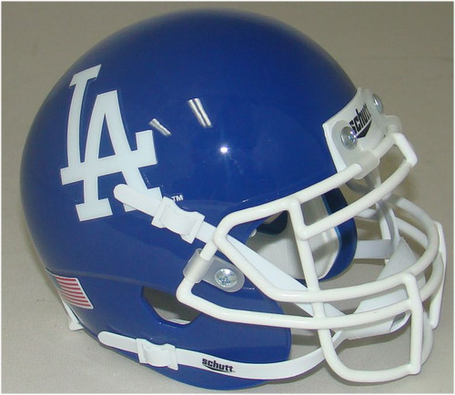 Los Angeles Dodgers Schutt Mini FOOTBALL Helmet