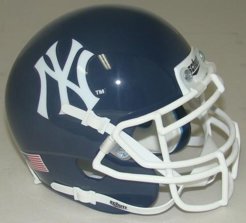 New York Yankees Schutt Mini FOOTBALL Helmet