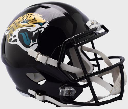 Jacksonville Jaguars NEW 2018 Logo SPEED Riddell Full Size Replica Helmet