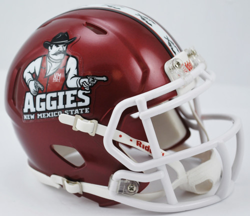 New Mexico State Aggies NCAA Revolution SPEED Mini Helmet