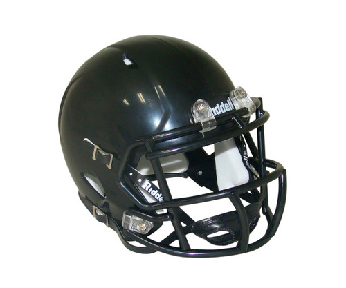 Black Blank Riddell Revolution SPEED Mini Football Helmet