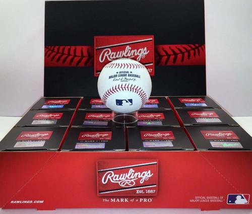 (Dozen) 2018 World Series MLB Rawlings Official Baseballs