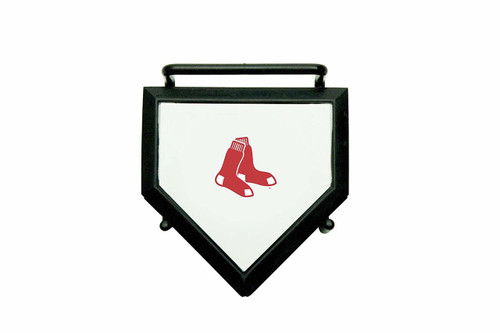 MLB Boston Red Sox Home Plate 4-pack Coaster Set