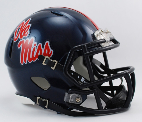 Mississippi (Ole Miss) Rebels NCAA Riddell SPEED Mini Helmet