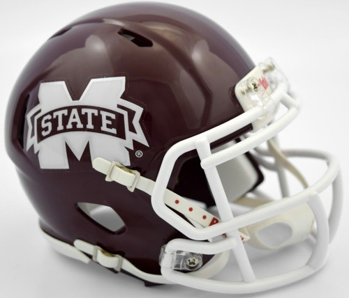 Mississippi State Bulldogs NCAA Riddell SPEED Mini Helmet
