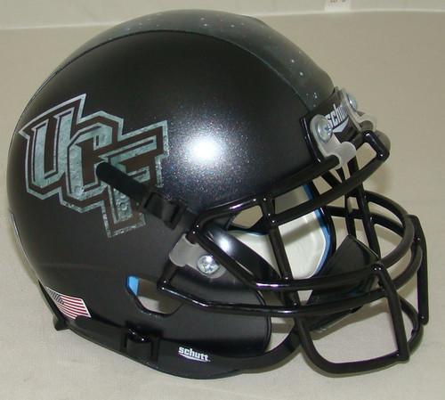 UCF Knights Alternate Moonlight Schutt Mini Authentic Football Helmet