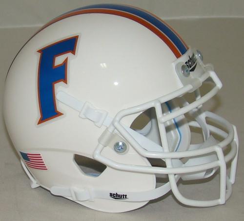 Florida Gators Alternate White Chrome Schutt Mini Authentic Football Helmet