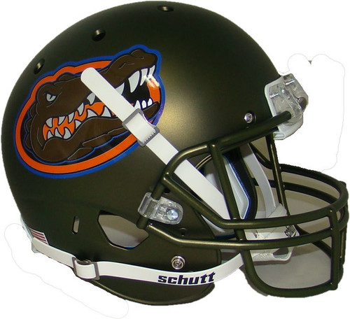 Florida Gators Swamp Green Alternate Schutt Full Size Replica XP Football Helmet