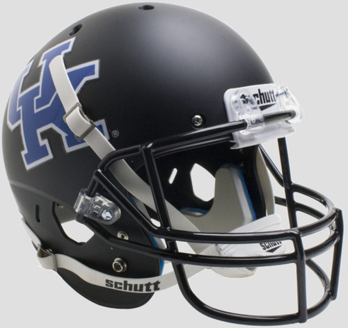 Kentucky Wildcats Alternate Black Schutt Full Size Replica XP Football Helmet