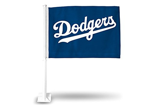 MLB Los Angeles Dodgers Car Flag
