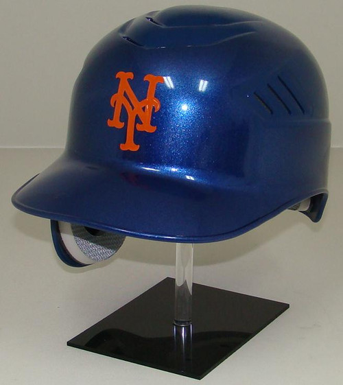 New York Mets All Blue Rawlings Coolflo REC Full Size Baseball Batting Helmet