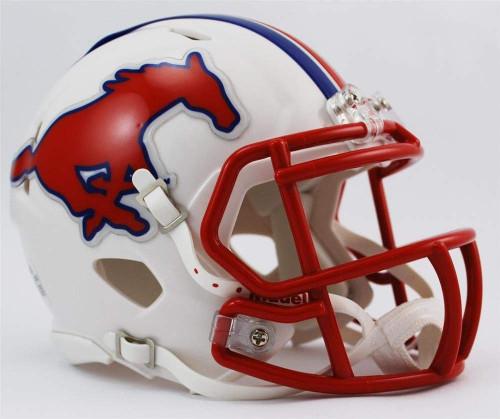 SMU Southern Methodist Mustangs NCAA Riddell SPEED Mini Football Helmet